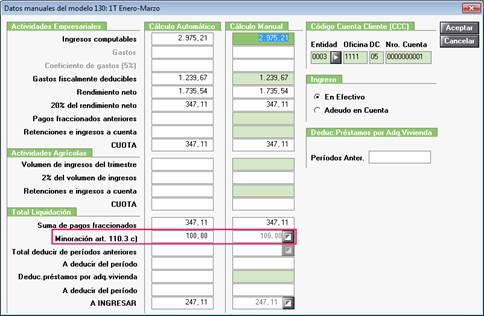 Datos manuales 130