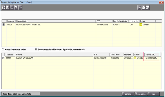 sistema liquidacion directa fichero xml