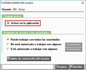 Confidencialidad de usuario