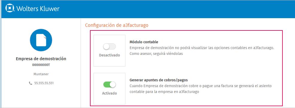 configuracion a3facturago