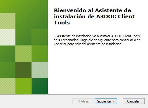 Asistente de instalación de herramientas