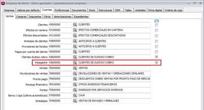 Datos Generales / Parametrización Empresa