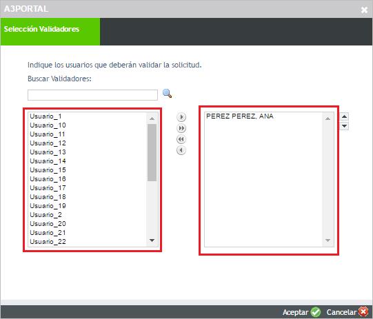 validadores portal
