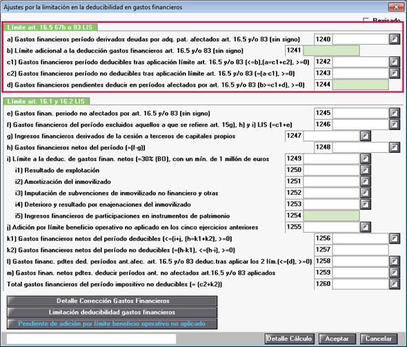 Límite art. 16.5 67b o 83 LIS