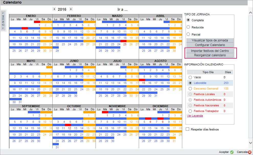 calendario festivos trabajador