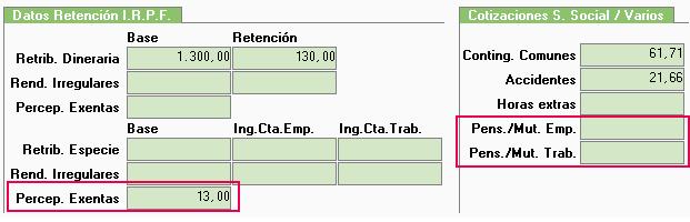 datos retencion irpf 2