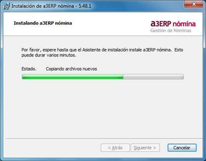 instalacion a3erp