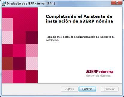 asistente instalacion a3erp nominas