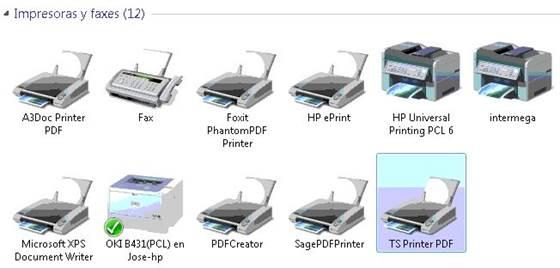 Dispositivos en Windows 7