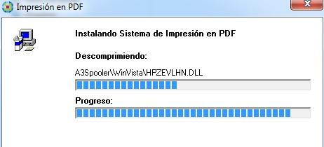 Impresión en PDF
