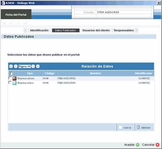 ficha de portal datos publicados