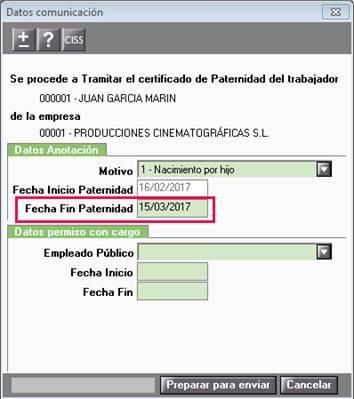 adaptacion paternidad a3nom