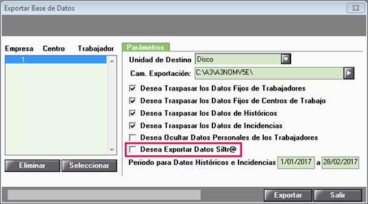 exportar base datos