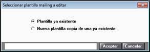 Seleccionar plantilla mailing a editar