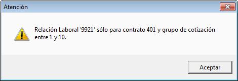 relacion 9921