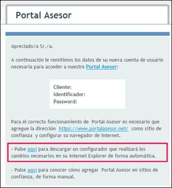 Portal ASESOR