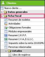 Ficha fiscal