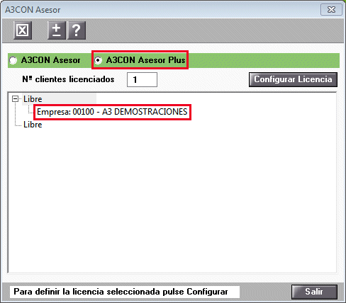 Licencia a3con asesor plus