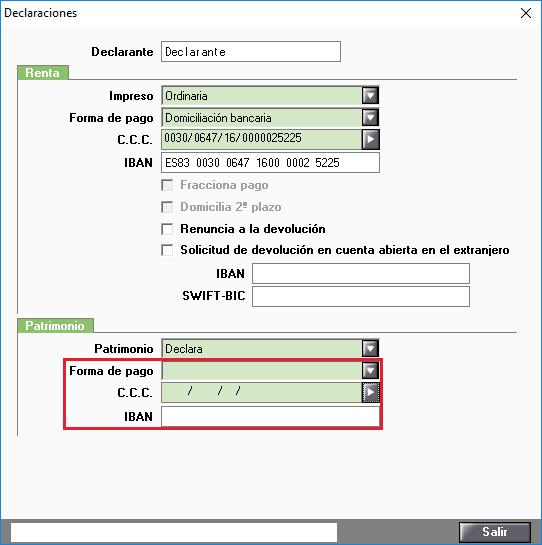 E010010 Caracteres no validos Tipo declaracion