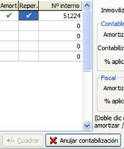 Anular contabilización