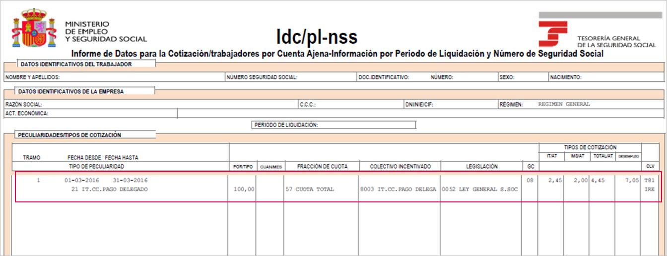 IDC PL NSS fichero bases