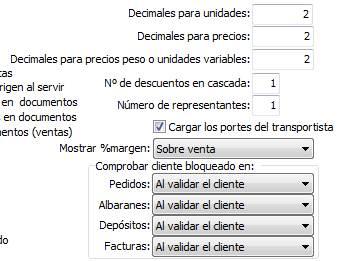 Configurqr decimales