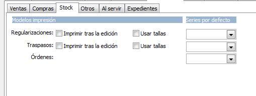 Documentos / Stock