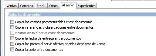 Documentos / Al servir