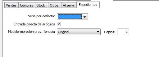 Documentación / Expedientes