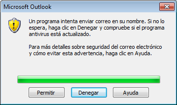 seguridad outlook