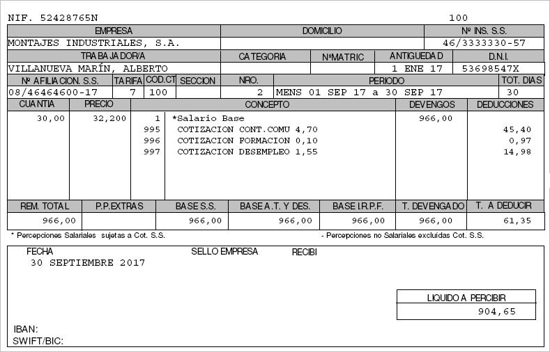 HS sumando pagas
