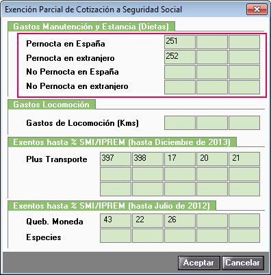 exencion parcial