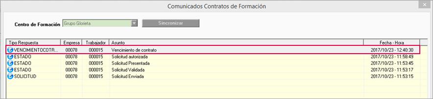 comunicados contratos formacion