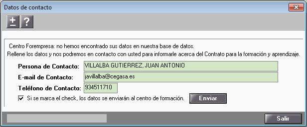 datos contacto