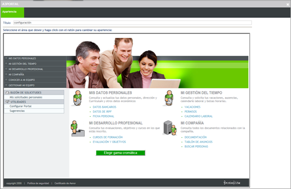 configuracion grafica personalizada