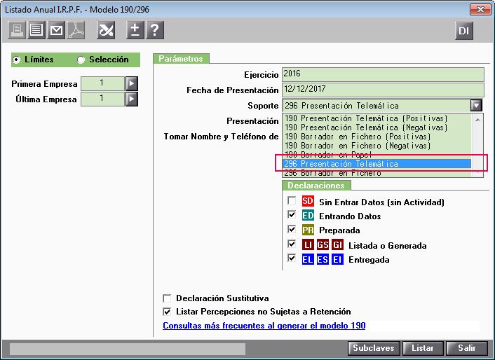 296 Presentacion Telematica