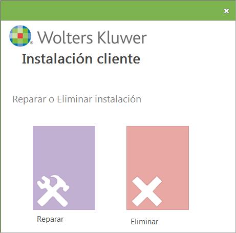 reparar instalacion