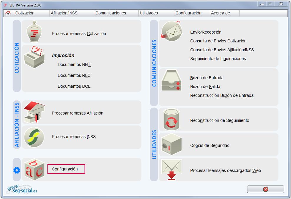 los datos del fichero CRA no son correctosx