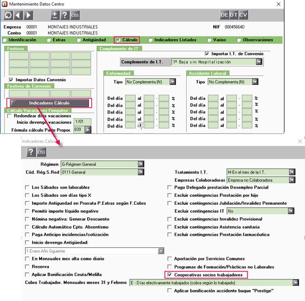mantenimiento datos centro calculo2
