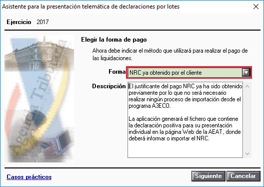 Asistente para la presentación telemática de declaraciones