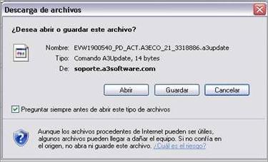 descarga archivos