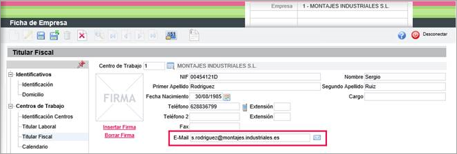 mail titular fiscal