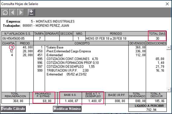 N mina del mes febrero en trabajadores mensuales con it y for Nominas para rellenar
