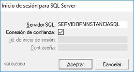 Inicio de sesión de SQL Server