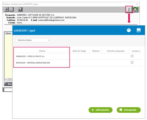 publicar clientes a3asesor_rgpd