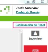 configuracion panel