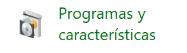 Programas y características