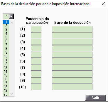 bases deducción por doble