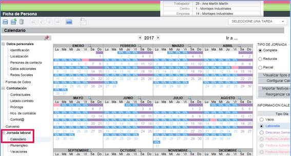 calendario jornada