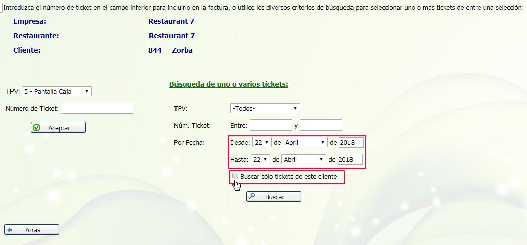 buscar ticket